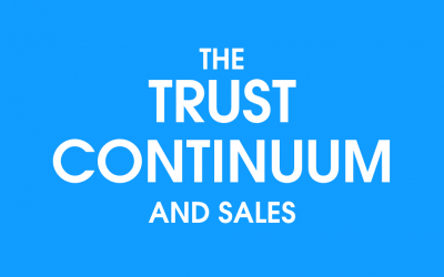 The Trust Continuum and Sales